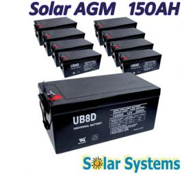 Battery AGM 150AH